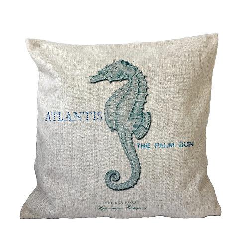 Elegant SeahorseThrow Pillow Cover