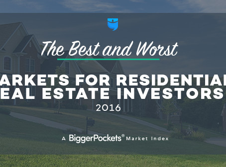 2016 Best & Worst Real Estate Investing Markets