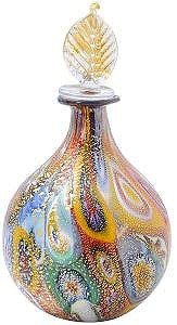 Murrina Murano Glass Perfume Vase