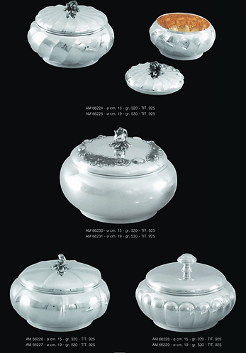 Sugar Silver Bowl with Cover