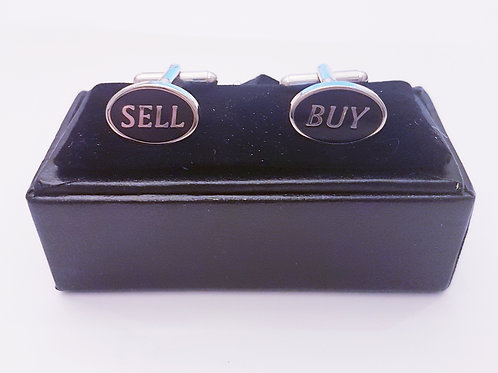 Cufflinks BUY SELLL with Gift Velvet Box