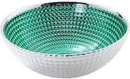 999 Pure Silver Bowl Glass