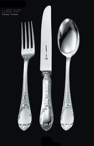 Cutlery Silver Set LUIGI XVI