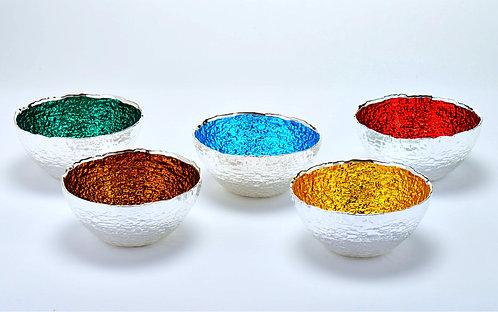 Moon Bowls 999 Pure Silver