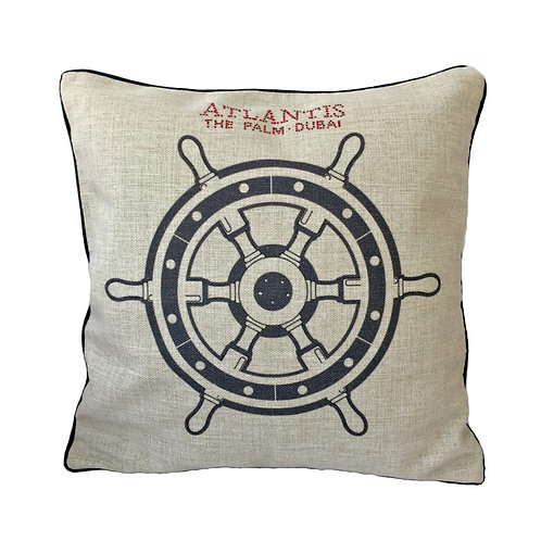 Steering wheel Design Throw Pillow Cover