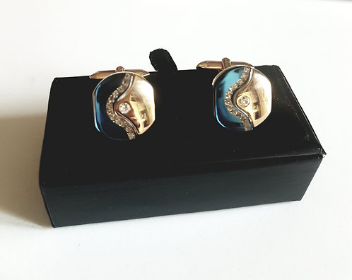 Luxury Cufflinks with Velvet Gift Box