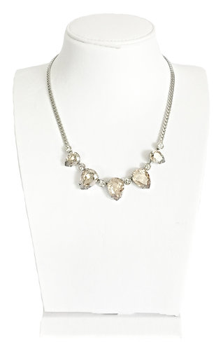 Drop Crystal Pendants Necklace