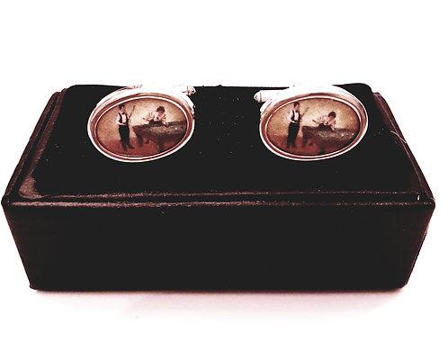 Cufflinks with Gift Velvet Box