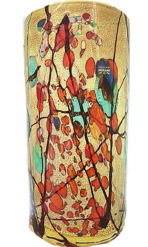 Kandinsky Inspired Contemporary Artistic Venetian Murano Glass Vase