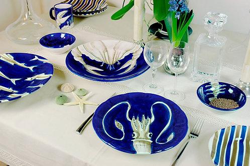 Hand Painted Dinner Set Plates