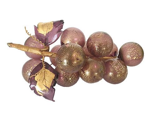 Murano Glass Purple Grapes