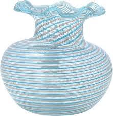 Filigree Murano Glass Filigree Vase