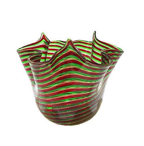 Artistic Murano Vase Filigree