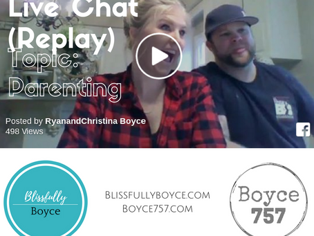 2/15/17 Live Chat -Topic: Parenting (Replay)
