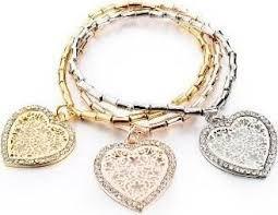 Tris Bracelets Heart Charms