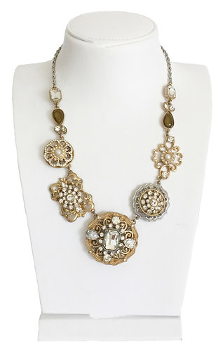 Gold Plated Vintage Necklace