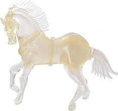 Roma Gold Horse Murano Glass