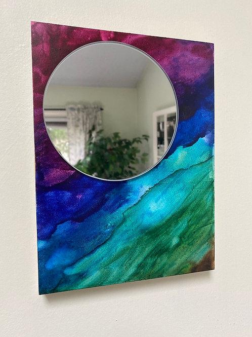 Tie-Dye Mirror