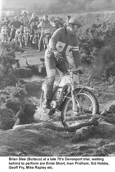 Brian Slee (Devonport Trial Late 1970's)