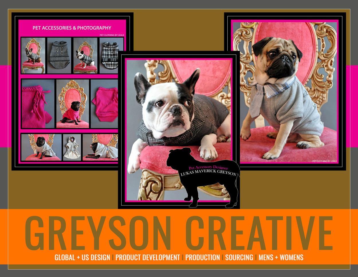 Pet Accessories: Greyson Creative by Lukas Greyson