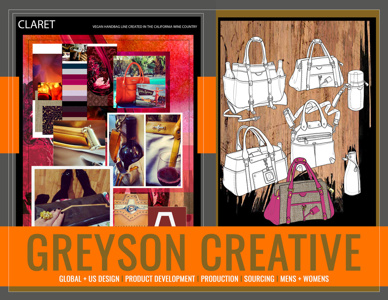 CLARET: Greyson Creative by Lukas Greyson