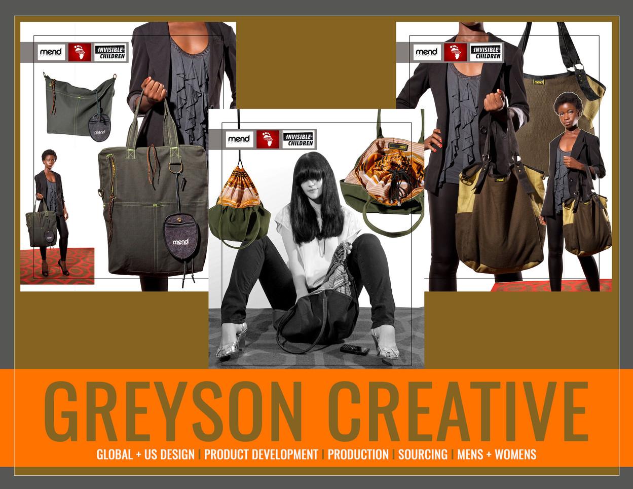 MEND: Greyson Creative by Lukas Greyson