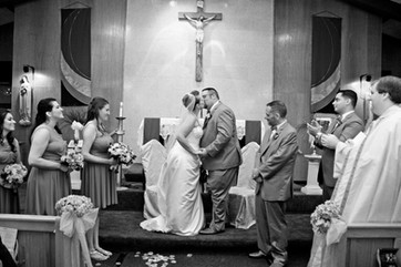 001B Bride and Groom Kiss Ceremony.JPG