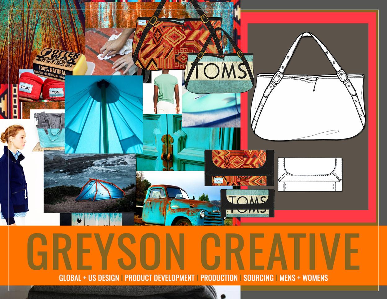 TOMS: Greyson Creative by Lukas Greyson