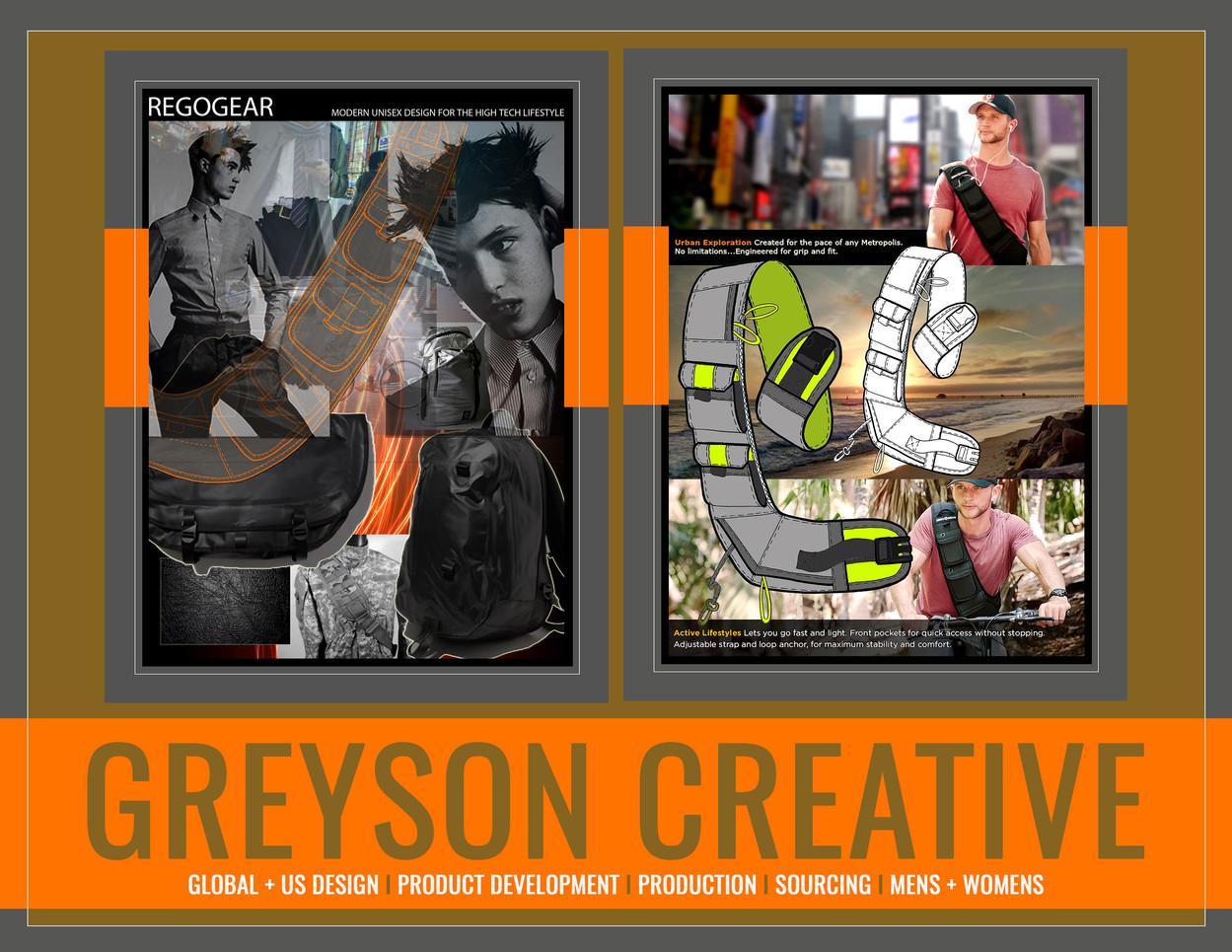 RegoGear: Greyson Creative by Lukas Greyson