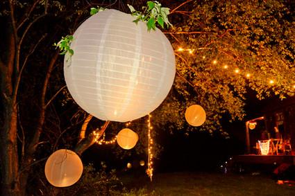 016 Outdoor Night Lights at Wedding Upst