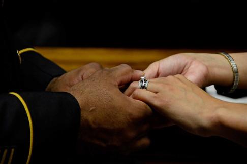 004 Bride and Groom Exchange Wedding Rin