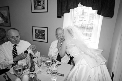 009 Bride Kisses Father After Wedding Ph