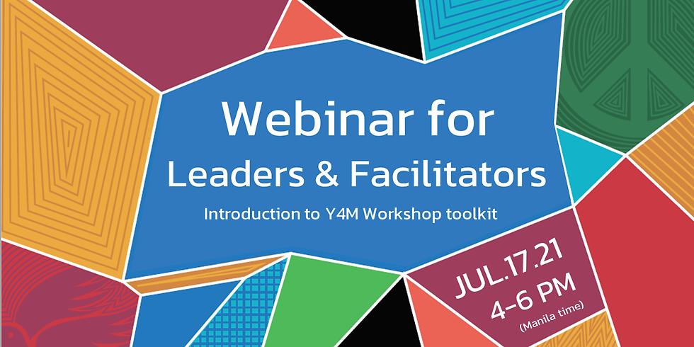 Webinar for Leaders and Facilitators