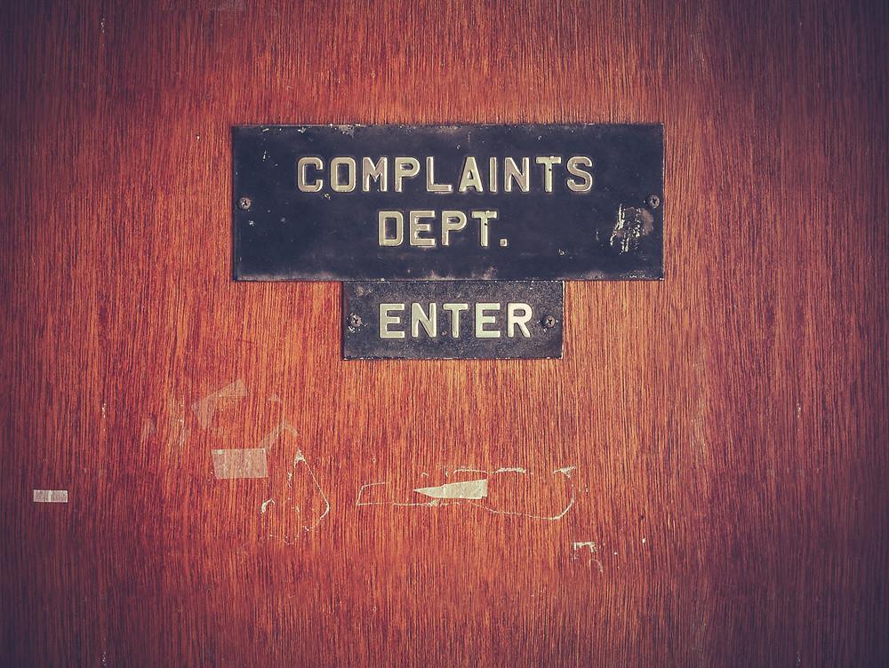 Banking complaints