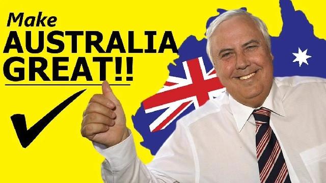 Clive Palmer's Make Australia Great campaign