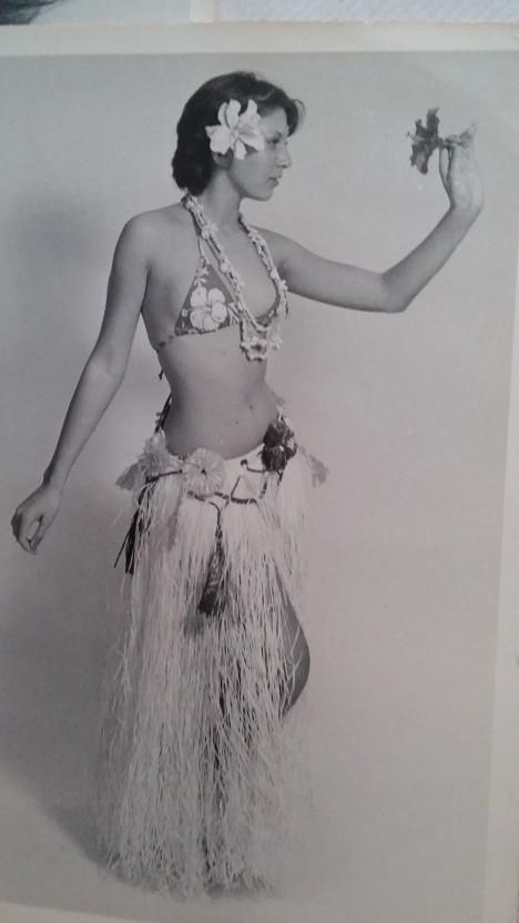 "Glenda Wynyard, Tiki Villiage ""Young Polynesians"""