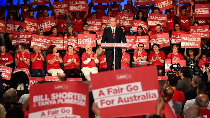 ALP's 'Fair Go for Australia'