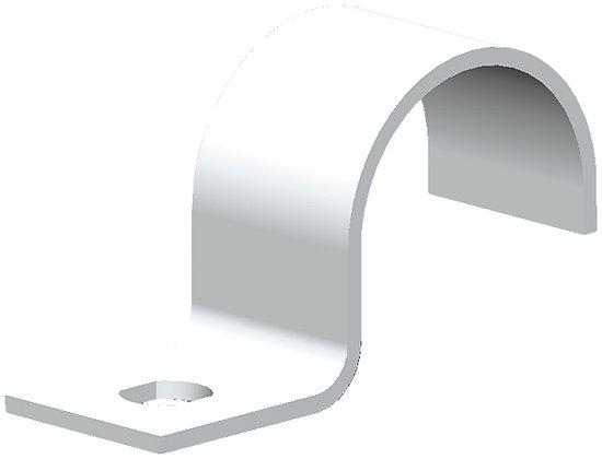 Bride 1 vis pour M16 Al/TIT gris clair plastifiée