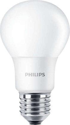 LED CorePro Bulb E27 A60 8-60W 230V 2700K 806lm opale - Lot de 6 ampoules