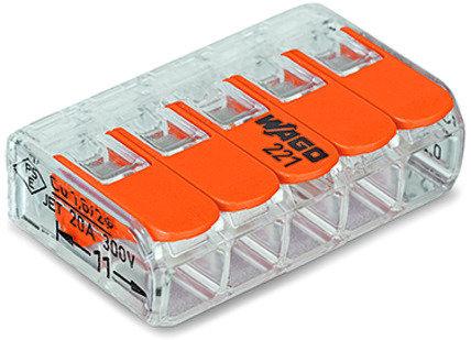 Borne pour boîte COMPACT série 221 5L 0.2-4mm²