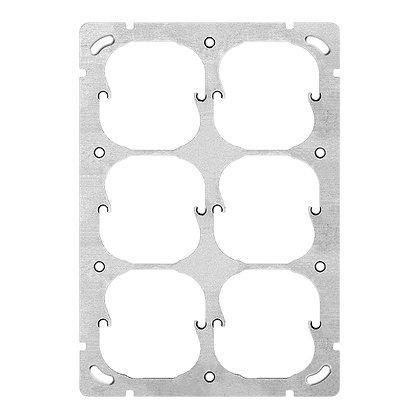 Plaque de fixation ENC FH 3×2 6×52mm