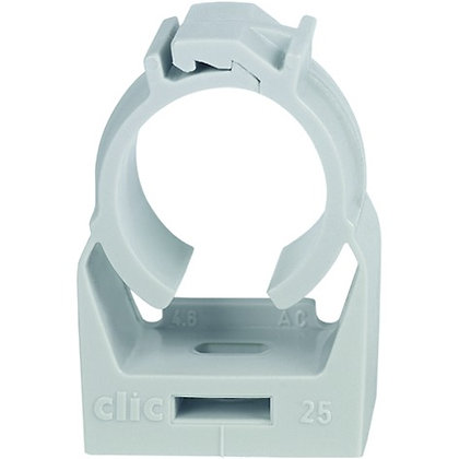 Collier de serrage Clic 20 EFCO 19.5-21.8mm gris clair