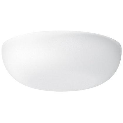 Rosace de recouvrement Agro 80mm blanc
