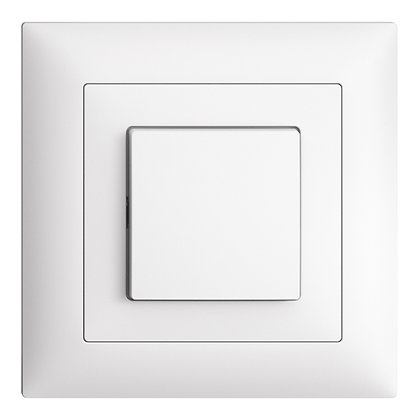Interrupteur ENC EDIZIOdue 6/1L blanc