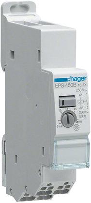 Minuterie-télérupteur 230VAC, 16A 1F Hager