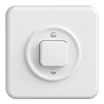 Interrupteur ENC STANDARDdue 3/1 blanc