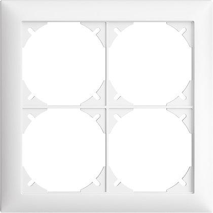 Cadre de recouvrement EDIZIOdue 2×2