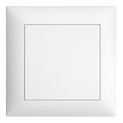 Obturateur ENC EDIZIOdue blanc, sans vis centrale