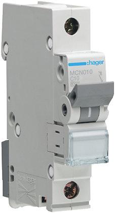 """Disjoncteur automatique Hager 6kA P/N """"C"""" LSC 10A"""