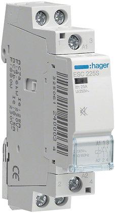 Contacteur AMD Hager 25A 2S 230VAC silencieux